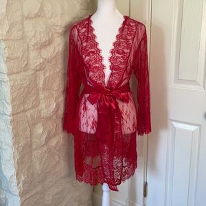 NWT Dreamgirl Intn'l Lace Lingerie Size S